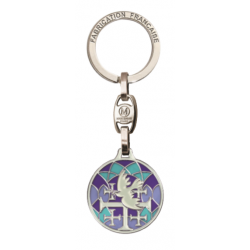 Porte-clefs colombe